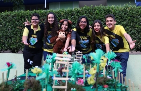 Equipes de robótica participam de torneio com propostas para preservação de aves e macacos