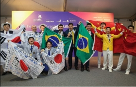 Estudantes de Mato Grosso conquistam o ouro em mundial