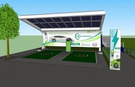 Fiemt inaugura nesta segunda primeiro eletroposto de Mato Grosso