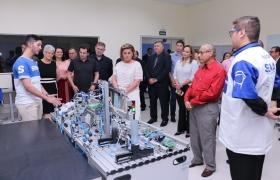 Senai Várzea Grande vira referência em automação, controle e redes industriais