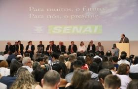 """""""O Senai tem a resposta para a educação do futuro"""", diz ministro Rossieli Soares"""