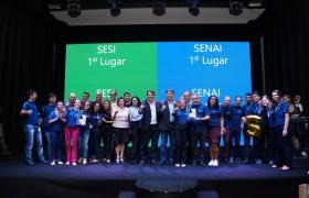 Sesi Rondonópolis e Senai Sorriso são campeões da Regra de Desempenho