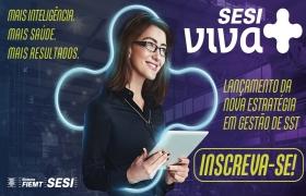 Sesi Sinop lança plataforma online com foco em saúde e segurança dos trabalhadores