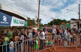 Primeiro Multiação do ano realiza mais de 9 mil atendimentos em Várzea Grande