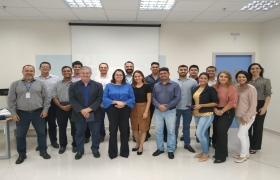 Equipe da Sedec visita Senai Cuiabá para conhecer oportunidades de parceria