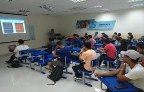 Palestra sobre 'Finanças e estratégias para startup' inspira estudantes da Fatec