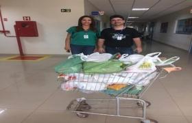 Fatec Senai MT entrega 75 kg de alimentos ao Lar dos Idosos em Rondon�polis