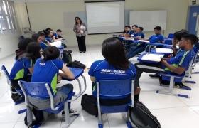 Empreendedorismo é tema de curso ministrado para alunos do Ensino Médio (Sesi Escola)