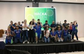 Aplicativos sobre EPIs, serviços para idosos e materiais recicláveis são ideias vencedoras do Hackateen