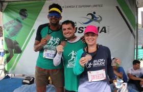 Atletas do projeto Sesi na Pista superam desafios na 36� Corrida de Reis