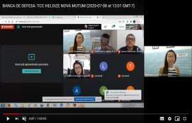 Fatec Senai MT adota defesa de TCC virtual para garantir forma��o dos estudantes durante � pandemia