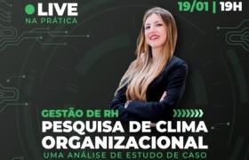 Pesquisa de Clima Organizacional � tema de live da Fatec Senai MT