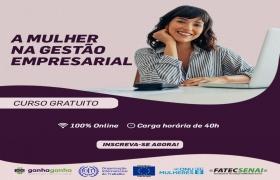 Inscri��es abertas para curso on-line e gratuito para mulheres sobre gest�o empreendedora