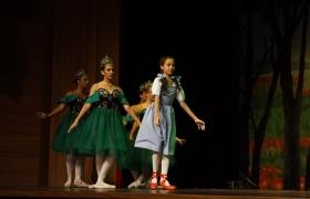 Apresentação de Ballet Sesiescola