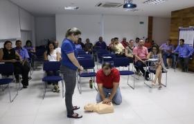 Treinamento de Primeiros Socorros - Sesi