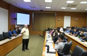 Palestra sobre Direitos Humanos - Sesi Escola Cuiabá