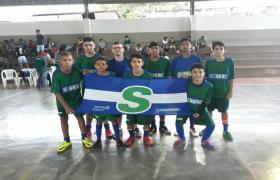 Equipes de Futsal - Sesi Escola