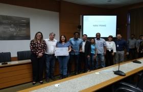 Premiação do projeto 'Construindo a Segurança nos Canteiros de Obras'