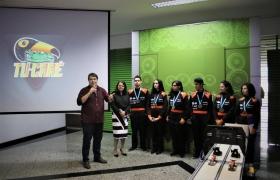 Estudantes do Sesi Escola - Reunião da Diretoria