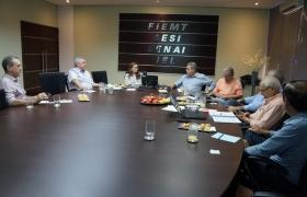 Reunião mensal do Conselho Temático de Infraestrutura (Coinfra)
