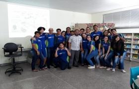 Sesi Escola recebe arquiteto e artista plástico Carlos Pina