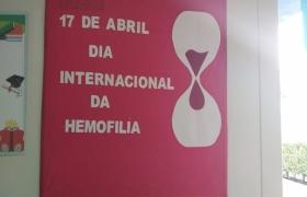 Ação do Dia da Hemofilia