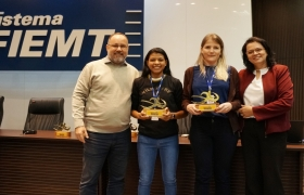 1ª Corrida da Indústria - Premiação funcionários Sistema Fiemt